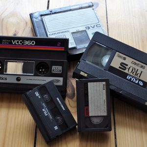 Überspielung analoger Videokassetten wie z.B. VHS oder auch VCR