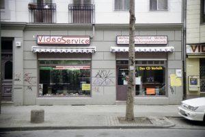 Unser Geschäft von vorne im Jahre 1992