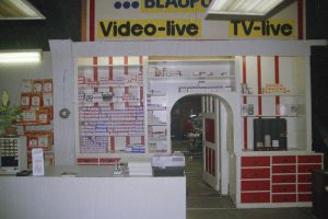Unser Verkaufsraum damals 1988