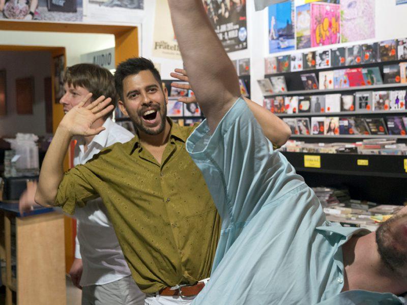Dekhan & Paul & Lingo im InStore Gig bei uns