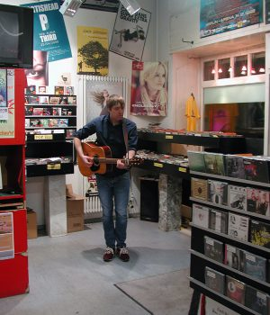 T.S.Brooks im InStore Gig bei uns