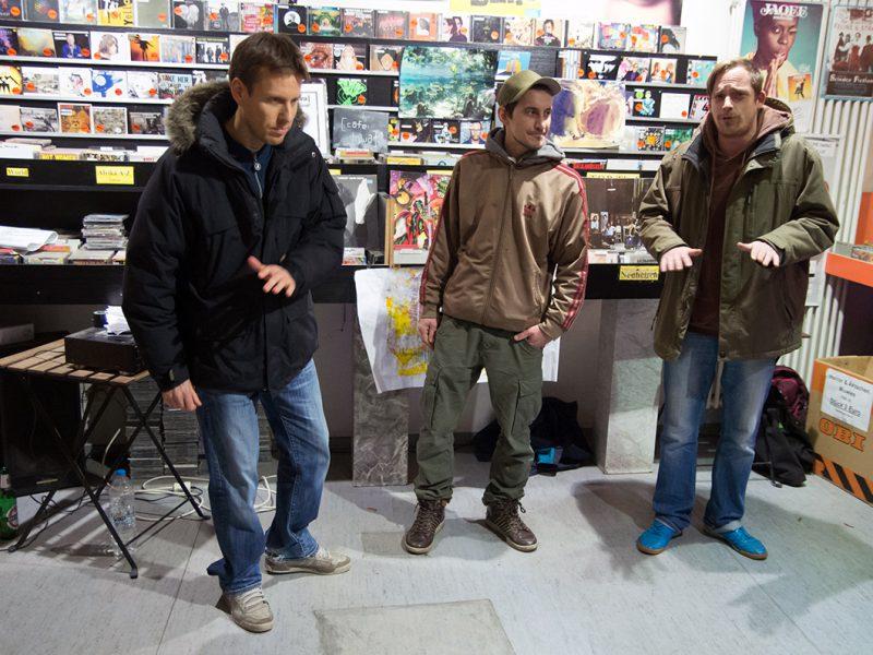 Paul Paul Allstars im InStore Gig bei uns