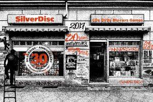 30 Jahre Silver Disc - Unser Jubiläums Logo.