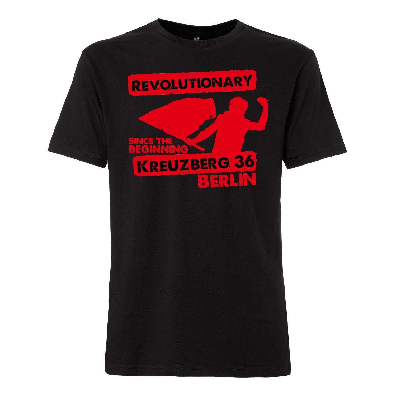 Unsere T-Shirt zur Revolution in Blutrot. SO36 Streetwear - Der Underground Style aus Kreuzberg - aus dem Wrangelkiez.