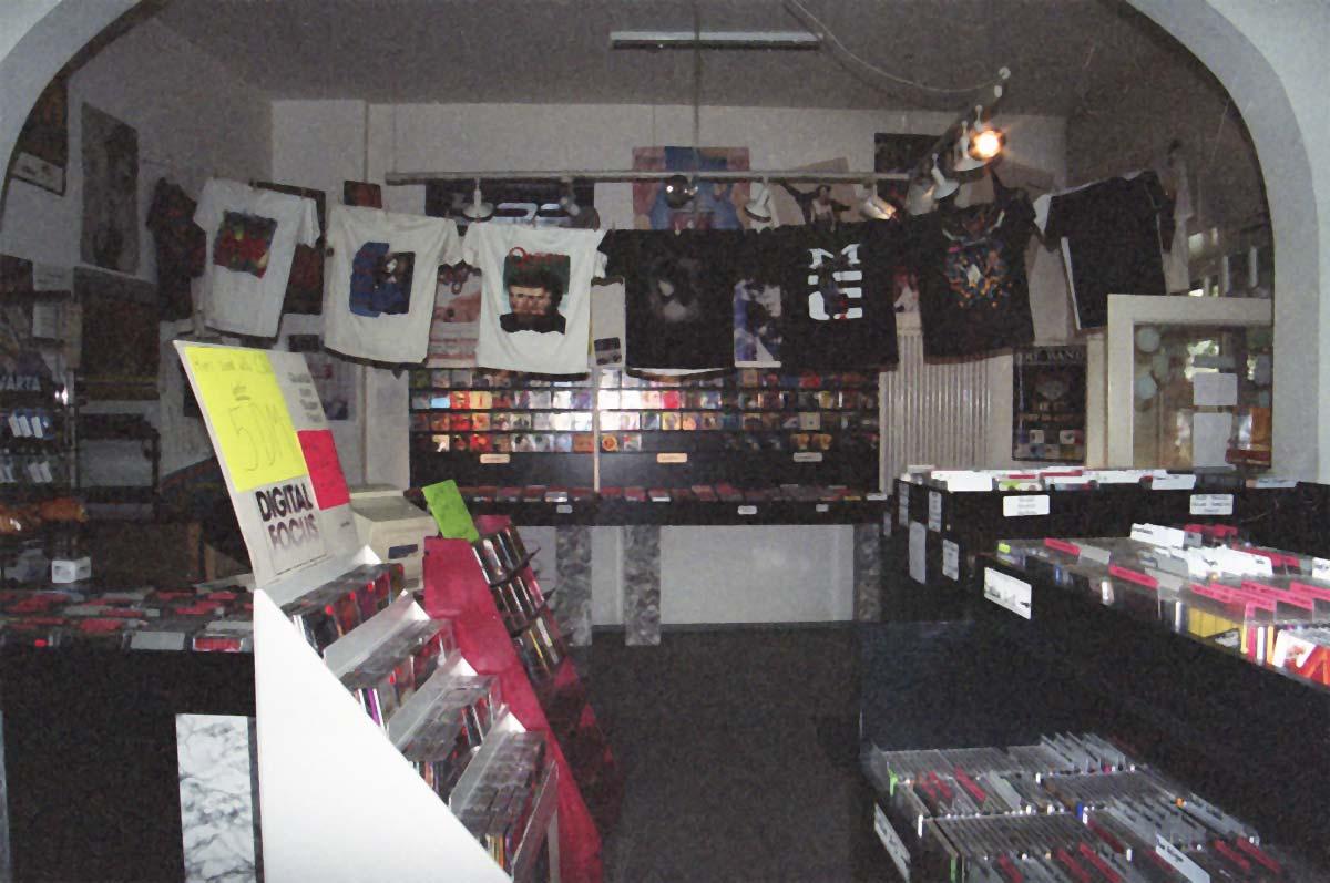 Unser Geschäft von vorne im Jahre 1996