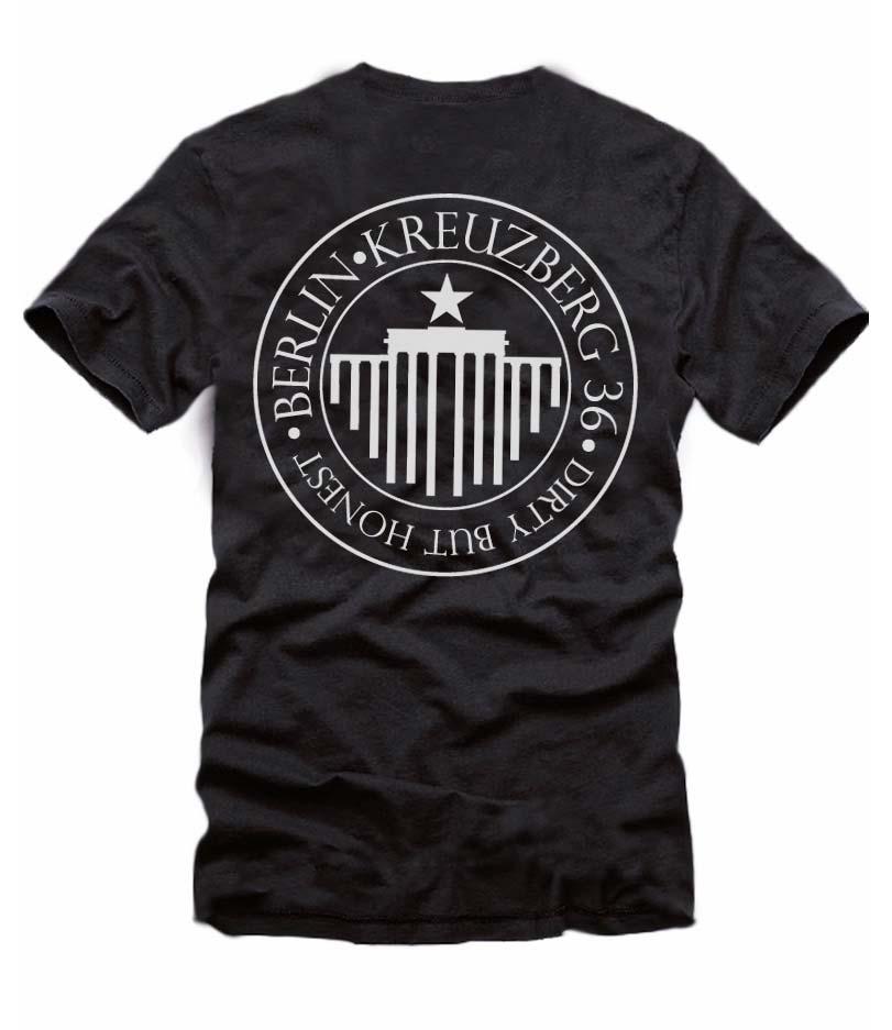 Dirty but Honest - Ein T-Shirt aus der SO36 Streetwear Kollection von Silver Disc. Mode aus dem Berliner Szenekiez - Dem Wrangelkiez