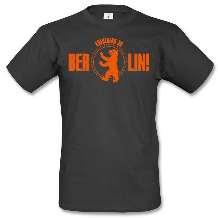 Berlin - Kreuzberg 36 - Ein T-Shirt aus der SO36 Streetwear Kollection von Silver Disc. Mode aus dem Berliner Szenekiez - Dem Wrangelkiez