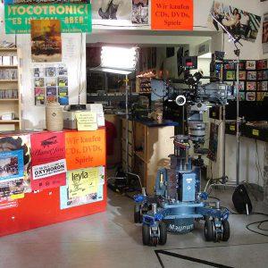 Two Funny - Der Kamerawagen wird installiert