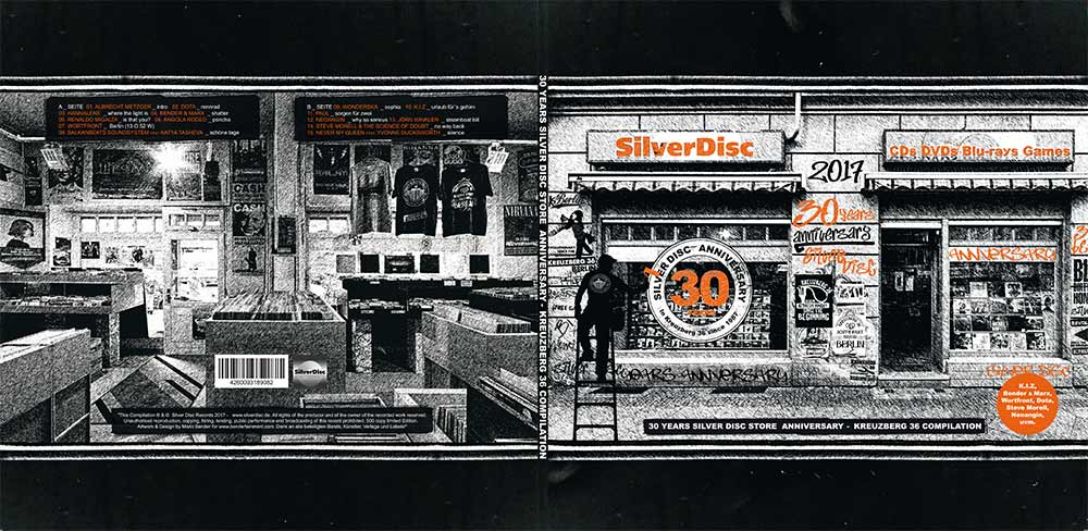 30 Years Silver Disc Store Anniversary - Kreuzberg 36 Compilation - Außencover