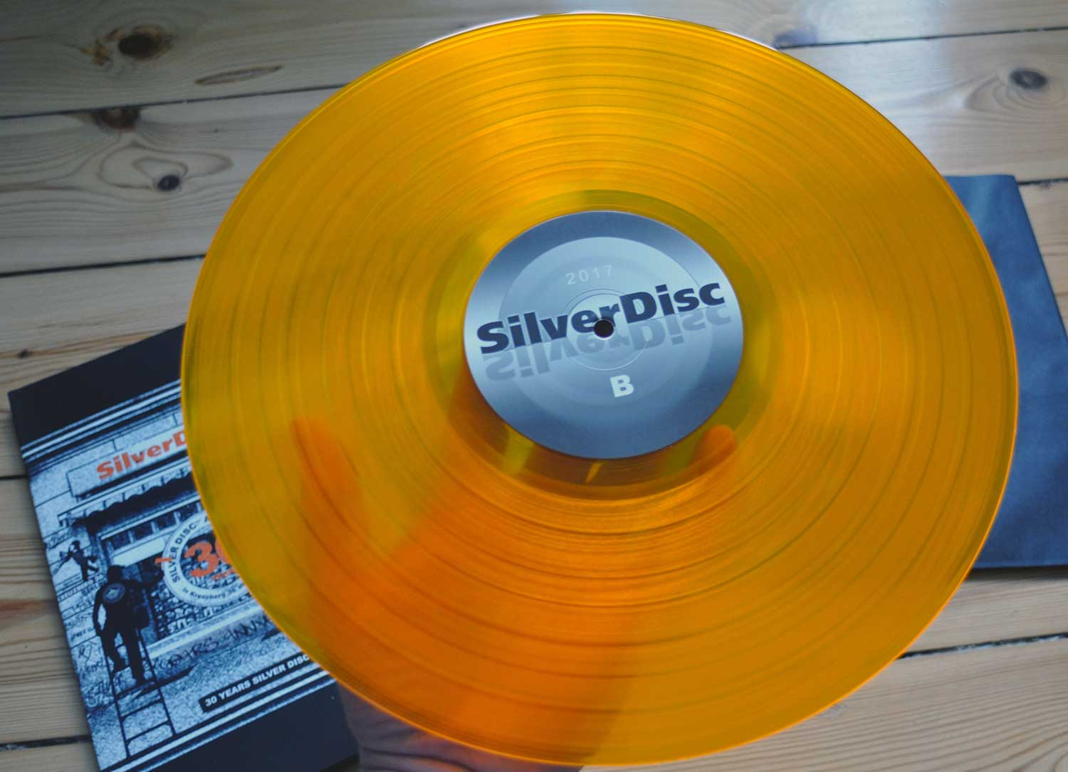 Jubiläums Sampler Silver Disc - Die orange Vinyl
