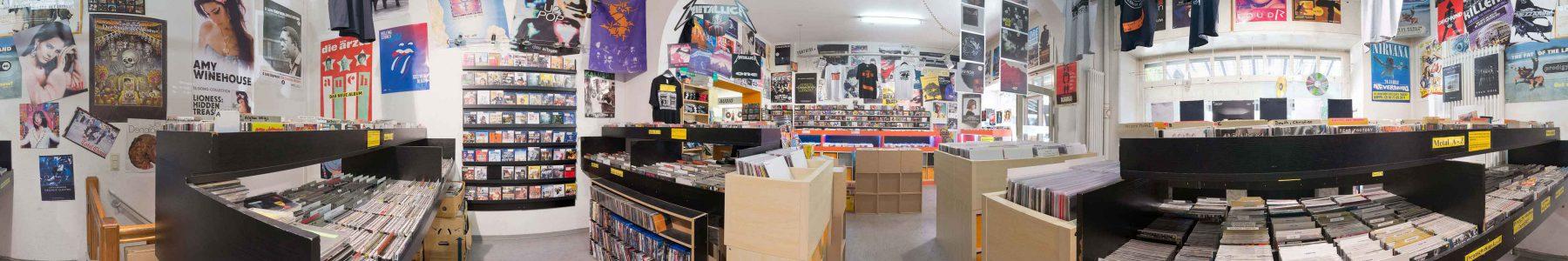 Panorama von Silver Disc - vorderer verkaufsraum - Foto: Ralf A. Hanke